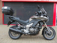 KAWASAKI KLZ 1000 ACF VERSYS ABS 2012 ONE OWNER FDSH NEW MOT EXTRAS HPI WARRANTY
