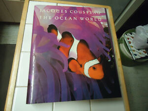 JACQUES COUSTEAU THE OCEAN WORLD 1985, HARRY ABRAMS