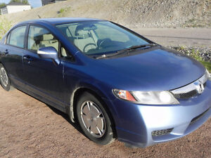 2009 Honda Civic berline hybride