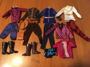 Barbie doll Ken shoes and clothes lot #3
