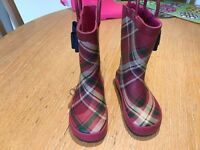 Girls Wellington Boots size 7