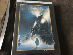 Dvd the polar express with Tom hanks