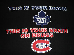 THIS IS YOUR BRAIN (LEAFS) THIS IS YOUR BRAIN ON DRUGS (HABS)