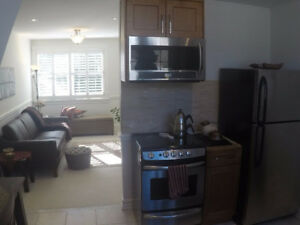 Bright upper level totally separate apartment