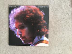 Bob Dylan At Budokan 33 1/3 RPM vinyl LP
