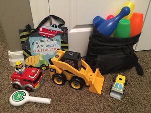 RANDOM boy toys and decor