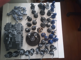 Primaris space marines army collection only due to fragile nature