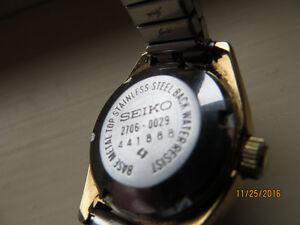 Ladies Seiko Automatic Hi-Beat Silver Tone 2706-0029 wrist watch Kitchener / Waterloo Kitchener Area image 3