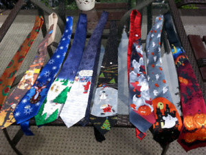 Ties & More Ties for All Occasions