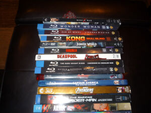 FS - Blu ray - Movies with Digital Codes Copies