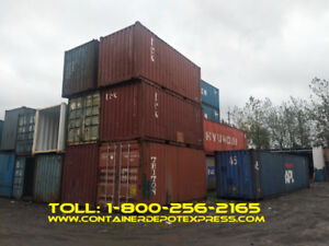 NEW OR USED STEEL STORAGE CONTAINERS FOR RENT / PURCHASE!