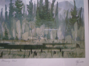 """Full Signature A.J. Casson-""""Morning Mist""""-Limited Edition Print Kitchener / Waterloo Kitchener Area image 9"""