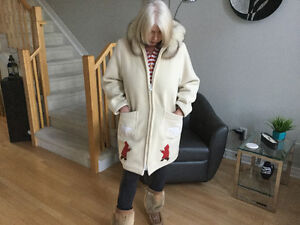 AUTHENTIC HUDSON'S BAY INUIT PARKA With SHELL