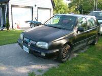 1997 2.0 LITER VW  GOLF PARTS CAR / NEW TIRES