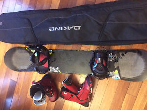 Ride Snowboard, Bindings and Boots - Excellent Condition