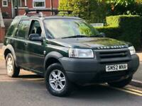 2002/52 LAND ROVER FREELANDER 2.0Td4 GS ** 4WD ** DIESEL ** CHEAP CAR **