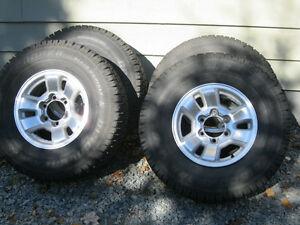 Winter Tires on Rim (Toyota Tacoma 2000)