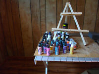 artists supplies and toll paint