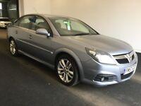 2008 57 Vauxhall Vectra 1.9 CDTI 16v 150 bhp SRI, Diesel, Automatic, 5 Door, Metallic Silver