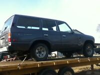 Toyota Land Cruiser Wagon parts