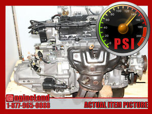 Honda Civic D16A8 1.6L DOHC ENGINE 5SPEED TRANS 1992-1995