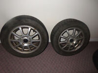 Winter Tire with Rims on sale