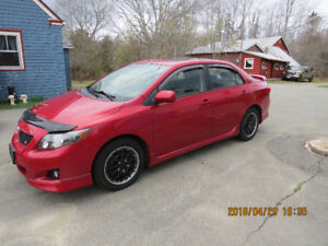 """For Sale - 2010 Toyota Corolla """"S"""" + Ground Effects"""