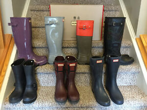 New! Hunter boots ladies size 7 and 8