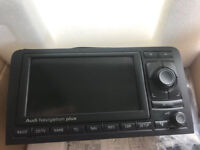 Audi A3 A4 navigation plus head unit