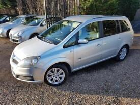 Vauxhall Zafira 1.9CDTi 120ps Active 7 Seater Turbo Diesel, Air Con Alloys