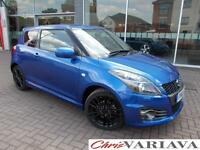 2016 Suzuki Swift 1.6 Sport [Nav] 3dr Petrol blue Manual