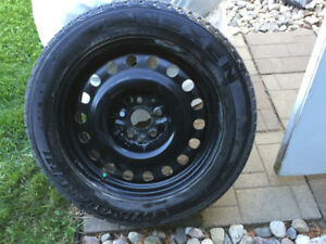 225/55R17 Winguard Nexen Winter Tires 2 years old