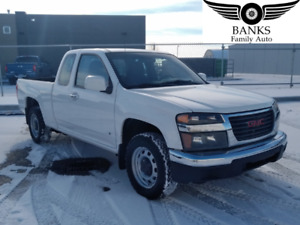 2009 GMC CANYON EXTENDED CAB SLE  WITH ONLY 93,000KMS!!!