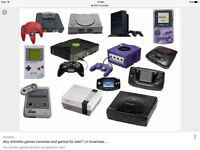 Looking for retro consoles