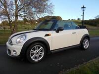 MINI ONE CONVERTIBLE CAR 61 REG 41,000 MILES