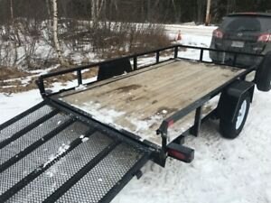 7 x 10 2018 Sure Track Trailer for sale.