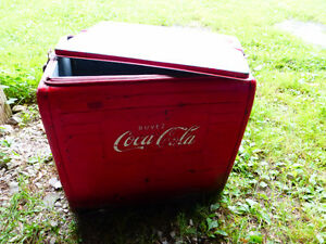 Vintage French Coca Cola Cooler