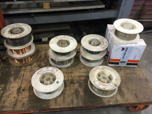 Lot de fil de soudure - Lot of Welding Wire