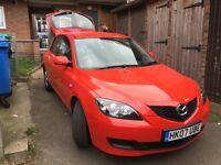 Mazda 3 Low mileage.