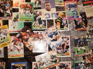 FOOTBALL CARDS FROM 90'S approx. 40 cards $20 Prince George British Columbia image 3