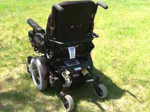 "18"" Invacare TDX SP electric wheelchair"
