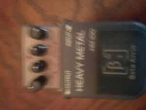 Heavy metal distortion pedal