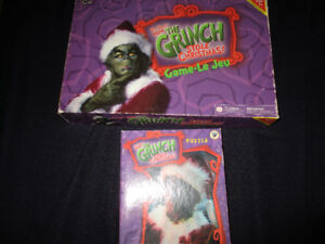 the Grinch board and and puzzle