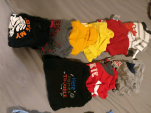 Baby boy clothes 6-12 months used condition