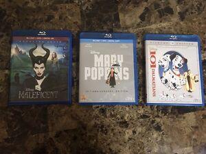 Disney DVDs/Blurays