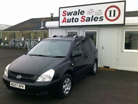 2007 KIA SEDONA GS 2.9CRDi 7 SEATER IN GREAT CONDITION, IDEAL FAMILY CAR