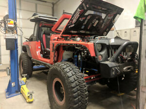 *CUSTOM Chevy V8* 2011 Jeep JK8 Project - Runs, Not Driveable