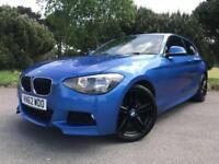 2012 62 BMW 1 SERIES 2.0 118D M SPORT 3D 141 BHP DIESEL