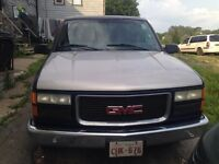 1998 GMC Sierra 1500 with truck cab