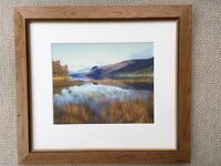"Beautiful 17""x15"" Wooden Framed Lake District Print"